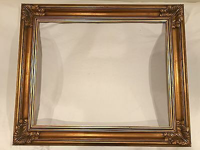 Large 30x24 Vintage Newcomb Macklin Style Gold Picture Frame