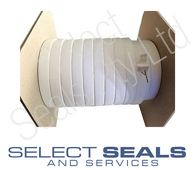 "Expanded PTFE Joint Sealant Tape 5/8"" x 82"" Gore Gasket Series 500 Teadit 24 BB"