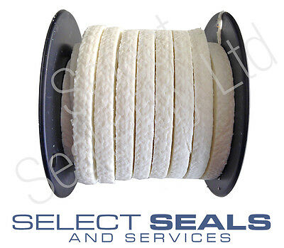 "Select Seals PTFE Gland Packing  9.5 mm (3/8)"" PTFE Pump & Valve Gland Packing"