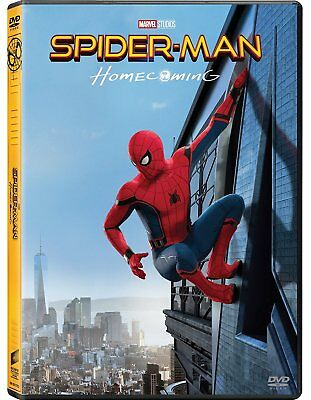 SPIDER-MAN: HOMECOMING (DVD) con Tom Holland, Michael Keaton, Robert Downey Jr.