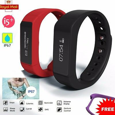 Smart Bracelet Sport Watch Bluetooth 4.0 Step Calorie Counter Tracker Pedometer