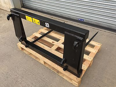Tractor Euro 8 Bale Spike / Forks Twin Tine Model :: FREE DELIVERY