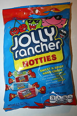 2 x JOLLY RANCHER HOTTIES Sweet & Spicy Hard Candy 184g Each Bag
