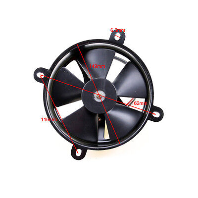 12V 6 inch thermo Radiator COOLING FAN fan Pit Trial dirt bike atv Quad Buggy