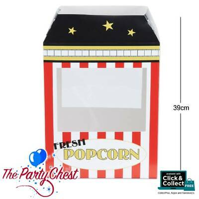 39CM CINEMA STYLE POPCORN MACHINE Hollywood Party Table Centre Decoration 50098