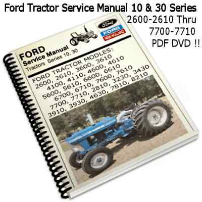 Ford Tractor Electrical Wiring Diagrams Training Service Shop Manual. Ford Tractor 10 30 Series Service Manuals 2600 Thru 7700 2610 7710 Cd. Ford. New Holland Ford Tractor 4400 Wiring Diagram At Scoala.co