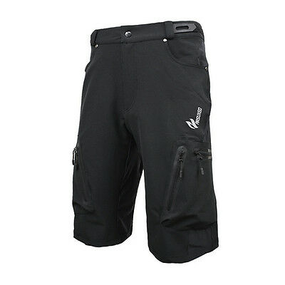 SS ARSUXEO men outdoor sports MTB Downhill bicycle shorts Black XL