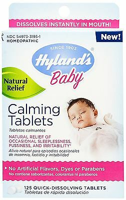 Hyland's Baby Calming Tablets, Natural Symptom Relief 125 ea