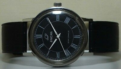 Vintage Enicar Winding SWISS Made Wrist Watch Old USED Antique r944 Superb