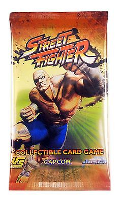 Jasco Universal Fighting System Street Fighter CCG, One Booster Pack New