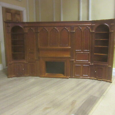 24th scale Complete wall section   Dolls House Furniture   J540001wn