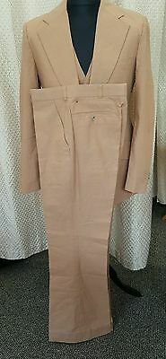 50's VINTAGE 3 PIECES SUIT 3 POCKET STYLE