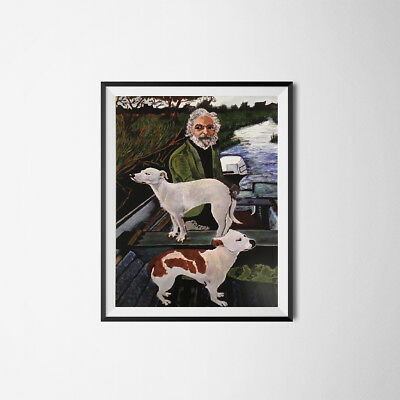 """Old Man And Dog Tommy's Mother Painting Poster Goodfellas Movie 11"""" x 17"""" Wall"""