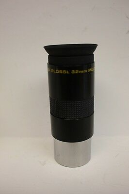"""Meade 32mm 1.25"""" Super Plossl Telescope Eyepiece 4000 Series USED Excellent Cond"""