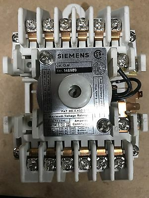 Siemens lighting contactor. 12 Pole, 120v Coil.