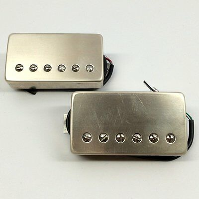 Bare Knuckle The Mule Vintage Output Pickup Set Raw Nickel Covers