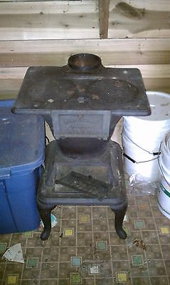 antique cast iron stove with