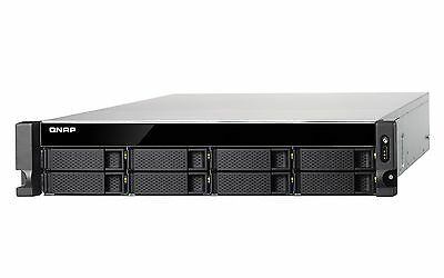 QNAP TS-831XU-RP-4G 8 Bay NAS Rack Enclosure with 4GB RAM 24 Months Warranty