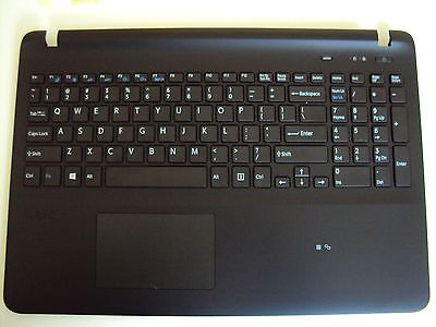 NEW Sony SVF152C29M SVF15327SCP 3PHK9PHN040 US PALMREST Complete With KEYBOARD
