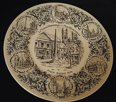 Wood & Sons Old Montreal Collector Plate