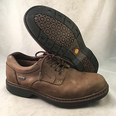 Clarks Rockie Lo GTX Brown Leather Oxford - Men's Size 8.5M - Good