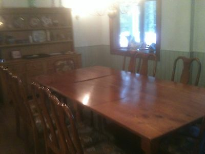 Handmade Cherrywood Dining Table - Seats 20