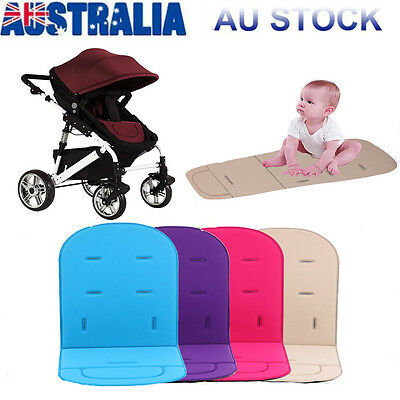 Polyester Baby Stroller Pad Pram Padding Car Seat Liner SOFT REVERSIBLE Washable