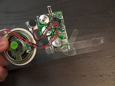 10sec Recordable Voice Module for Greeting Card Music Sound Talk chip musical