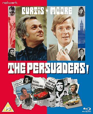 The Persuaders Complete Series (Tony Curtis Roger Moore) Region 2  DVD 9 Discs
