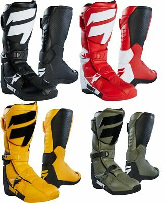Shift Racing Mens Whit3 White Label MX Boots