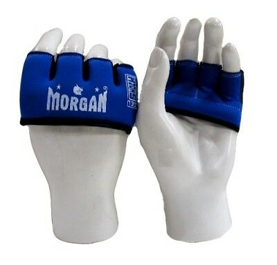 MORGAN GEL KNUCKLE GUARD [Colour: Blue] [Size: Senior] boxing mma