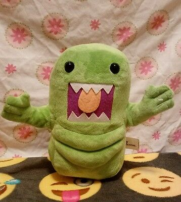 "Kellytoy Domo 10"" Slimer Plush Ghostbusters Green Monster Ghost"