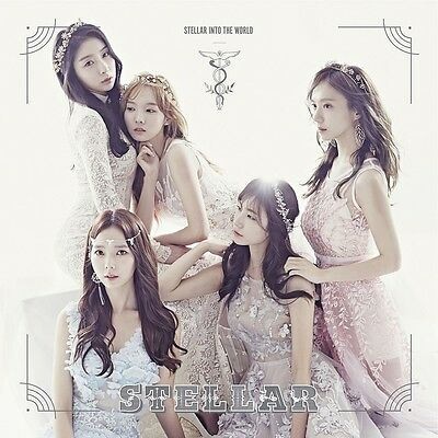 STELLAR - Stellar Into the  World [The Sephiroth Tree ver. (White)] CD+Photobook