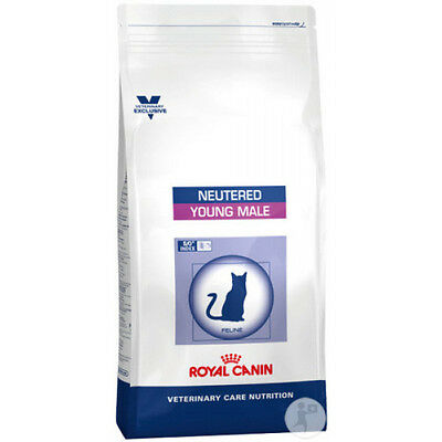 Croquettes Royal Canin Veterinary Care Neutered Young Male pour chats Sac 1,5 kg