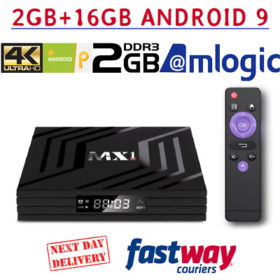 Android 6.0 Smart Tv Box 4K Ultra HD Media Player Wifi Quad Core WIFI MXQ Netfli
