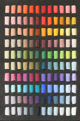 Unison Artists Pastel Box Set - 120 Half Sticks