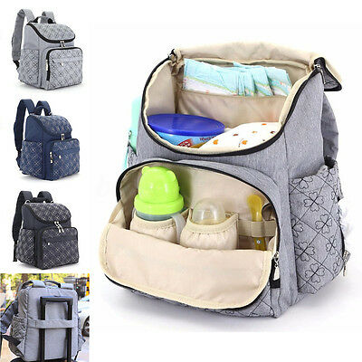 Mummy Maternity Baby Diaper Bags Travel Nappy Organizer Nursing Backpack Large