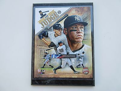 """Aaron Judge New York Yankees 2017 Composite Photo Mounted On A """"9 X 12"""" Plaque"""