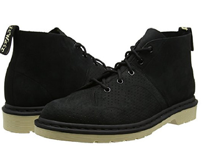 Genuine Dr. Martens Men's Church Chukka Lace Up Boots Black