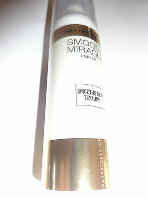 MAX FACTOR,SMOOTH MIRACLE PRIMER,SMOOTHS SKIN TEXTURE,30ml,NEW,FREE UK PP