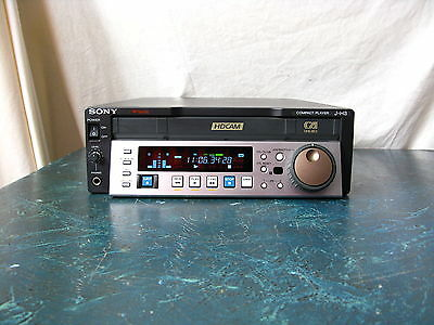 Sony J-H3 Hdcam Player With Only 31 Tape Hours On The Hour Meter