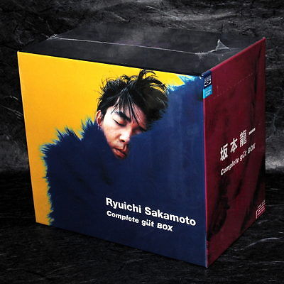 Ryuichi Sakamoto Complete Gut Box Japan Original 12 CD Set Limited Edition NEW