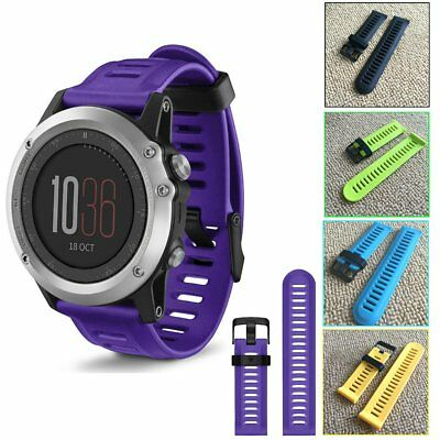 Soft Silicone Wristband Replacement Smart Watch Band Strap For Garmin Fenix 3