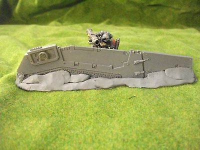 Warhammer 40k scenery Drop pod space marine vehicle defence line