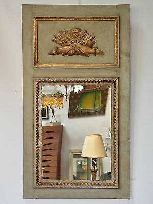 Pair of antique French mirrors