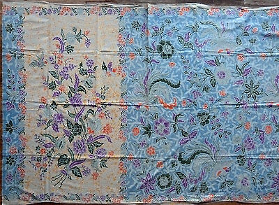 Old Pekalongan Fully Handmade Indonesian Batik Textile Tuli