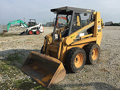 Case 1840 Skid Steer, local trade. Low hours. Ready to work.