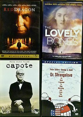Mix of 4 Crime/Dramas Movies From a Private Collection  DVD's in Great Shape !!