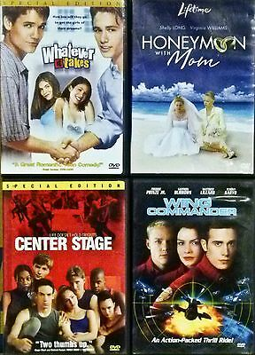 Mix of 4 Action/Comedy DVD Movies From A Private Collection DVD in Great Shape!!