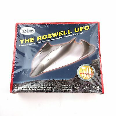 ROSWELL UFO SPACECRAFT 1/48 Scale Model Kit FACTORY SEALED 50th Anniv EDITION